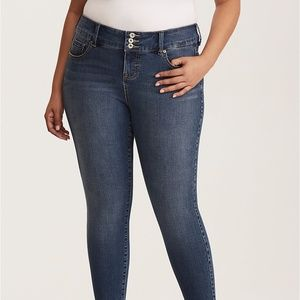 torrid Medium Wash Jegging Jeans